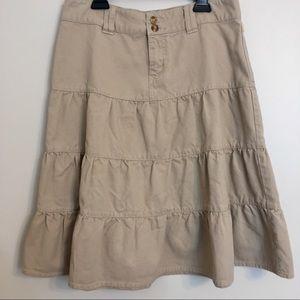 Duck Head Skirts - Duck Head khaki skirt